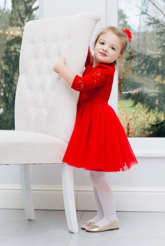LaKey Mamba sukienka koronkowa dla dziewczynki. Dla dzieci